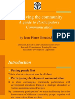 A Guide to Participatory Communication