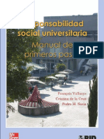 Manual Responsabilidad Social Universitaria
