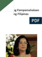 Sistema Ng Pamahalaan Sa Pilipinas