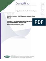 Forrester Report for Fibre Box Association