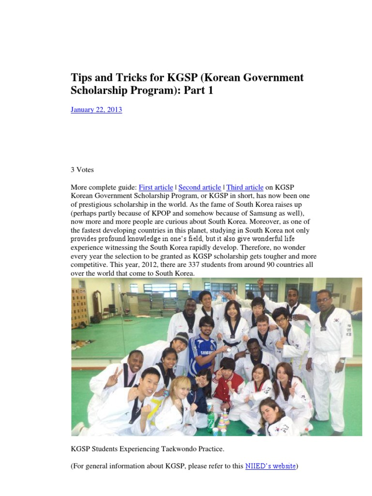 Tip And Trick For Kgsp Graduate School Postgraduate Education Personal Statement Example