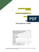 16 Lab Heterogenious Targets