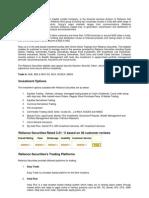 WORD Reliance Securities(1)
