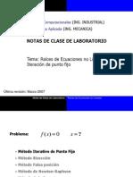 Notas de Clase 2 Raices PuntoFijo