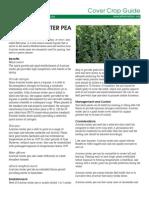 Cover Crop Guide - Austrian Winter Pea