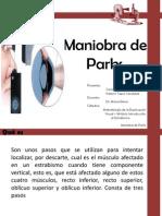 Maniobra de Parks. Carla Caiceo - Katerin Tapia