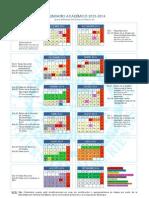Calendario Ual 2013-14