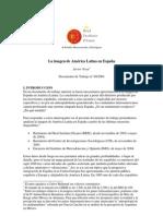 La imagen de América Latina en España