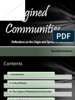 PPT Imagined Communities