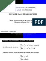 Notas de Clase 7 Sistemas NoLineales