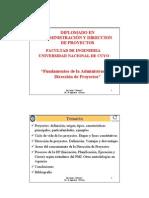 01 - Fundamentos Adm Proyectos