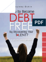 preview of how to become debt free by discovering your talent - 0813