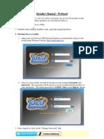 retailers  webtool manual