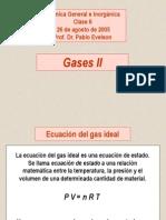 Gases II Ley de Dalton , Ley de Graham
