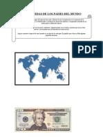 Las Monedas de Los Paises Del Mundo