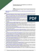 Resumen Informaciones Semana Del 31 de Diciembre 2012 Al 6 de Enero 2013