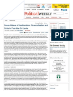 Second Wave of Neoliberalism_ Financialisation and Crisis in Post-War Sri Lanka _ Economic and Political Weekly