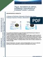 Estanques y Lagos Tratamiento Agua y Ph Cv 1pag Aydoagua.com
