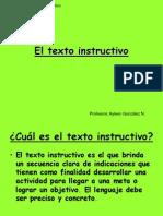 El Texto Instructivo (1)