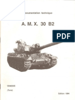 Armor Manuals Documentation Technique AMX 30 B2 Chassis Partie Texte (OCR)