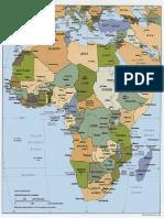 Africa Political Map 93