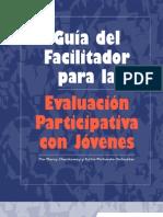 Guía del Facilitador para la Evaluación Participativa con Jovenes
