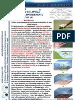 Estanques y Lagos Tratamiento Agua y Ph Cv 4pag Aydoagua.com