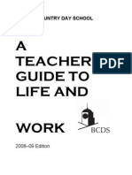Teachers Guide to Life and Work