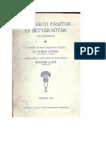 Ecsedi István dr.,Bodnár Lajos - Hortobágyi Pásztor és Betyárnóták 1927.