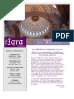 Iqra Issue 1 Volume 4.
