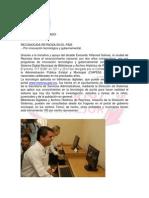 RECONOCIDA REYNOSA EN EL PAÍS.- Por innovación tecnológica y gubernamental.