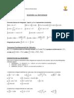 Integrais duplas - revisão integrais simples
