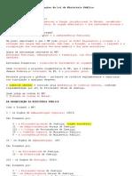 Anotações da Lei do Ministério Público