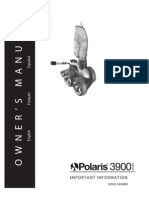Polaris 3900 Owner's Manual