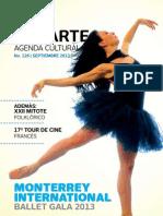 Agenda cultural de Conarte | septiembre 2013