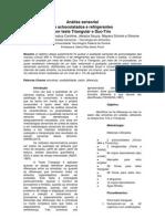 relatório analise sensorial