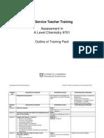 Outline of Training Pack 9701