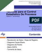 Tecnicas Para El Control Estadistico de Proceso