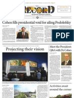 Front Page - Orientation, 2013