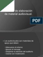 Taller de Recursos Audiovisuales