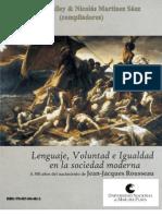 Actas de III Jornadas de Filosofía Moderna 2012 (Rousseau)