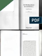 Os problemas da estetica - Capítulo II e III (Pareyson)
