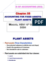 Chapter 8 - Fixed Assets