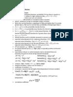 probability exam notes