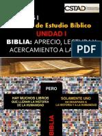 Exsegesis Biblica UNIDAD I- Biblia