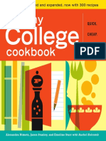 The Healthy College Cookbook (sample pages)