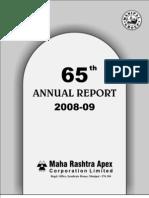 Maharashtra apex annual report 2009