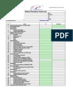 BK-Roll Out Procedure Check List.xls