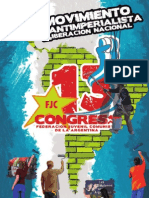 Resoluciones XIII Congreso Federación Juvenil Comunista
