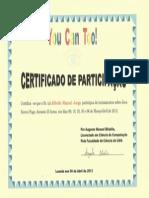 Certificado You Can Too-Alfredo